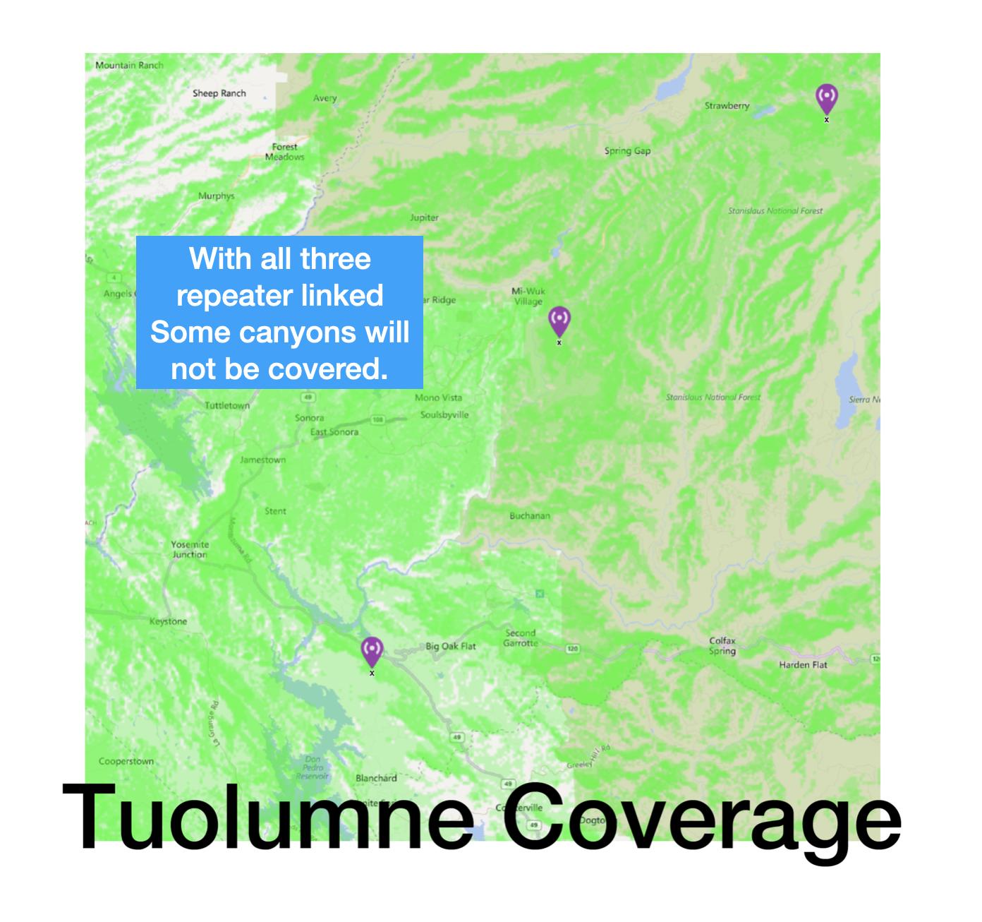 repeater coverage