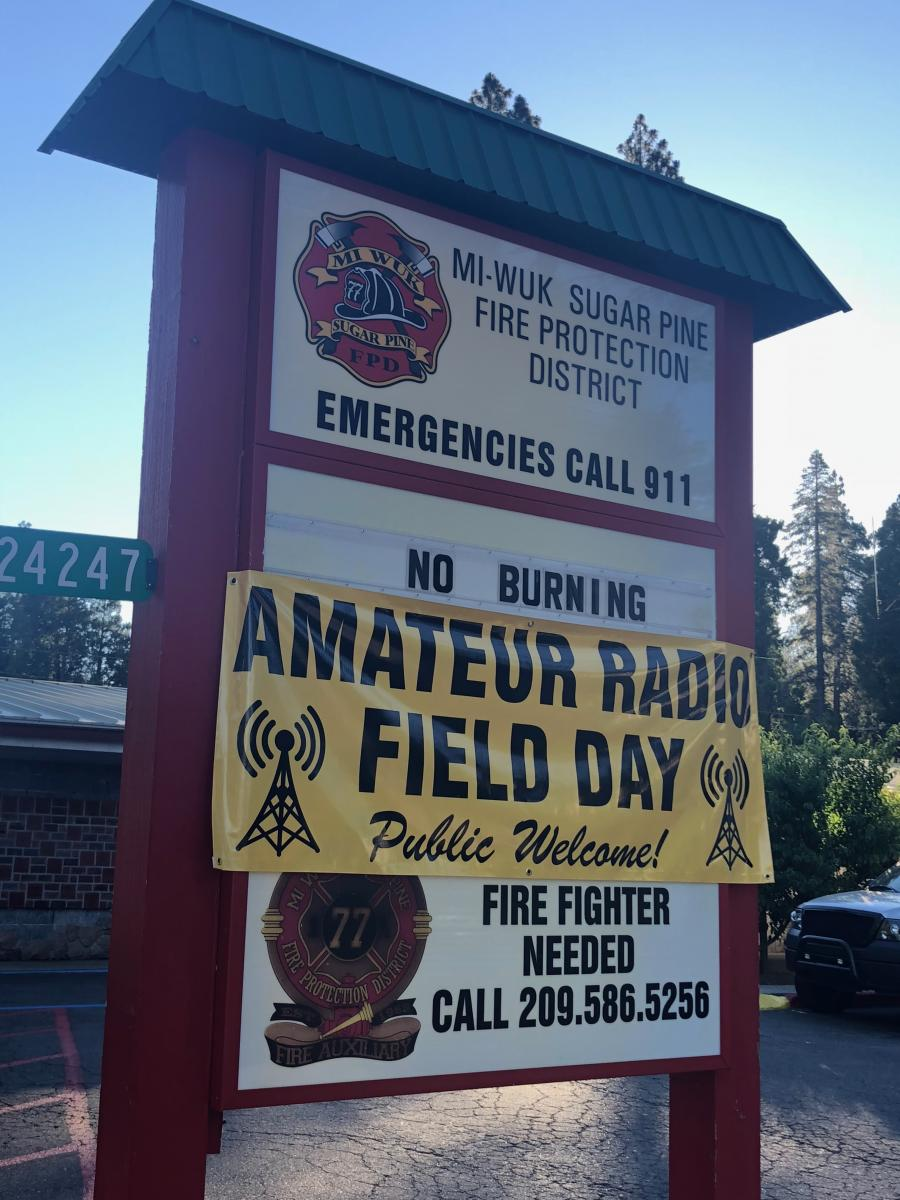 Tuolumne County Amateur Radio Emergency Services - TCARES NET